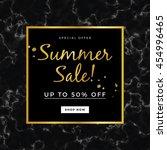 summer sale design for banner...   Shutterstock .eps vector #454996465