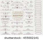 set of design resources.   Shutterstock .eps vector #455002141