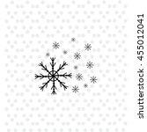 snowflake icon vector. simple...