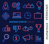 business startup vector icon... | Shutterstock .eps vector #455041465