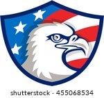 illustration of an american... | Shutterstock .eps vector #455068534