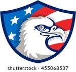 illustration of an american... | Shutterstock . vector #455068537