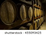 Wooden Barrels Deposit For...