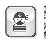 pirate icon | Shutterstock .eps vector #455101837