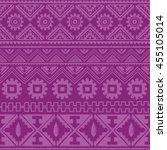 purple native american ethnic... | Shutterstock .eps vector #455105014