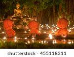 Asalha Puja Day  Monks Light...