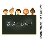 vector illustration. greeting...   Shutterstock .eps vector #455131999