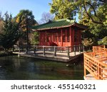 ancient house   lake  | Shutterstock . vector #455140321