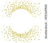 gold splash or glittering... | Shutterstock .eps vector #455165965