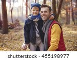 the best friendship is between... | Shutterstock . vector #455198977