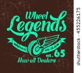 wheel legends vector t shirt...