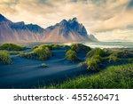 Black Sand Dunes On The...
