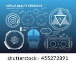 hud elements for virtual...
