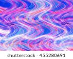 colorful wavy background... | Shutterstock . vector #455280691