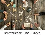 business planning and... | Shutterstock . vector #455328295