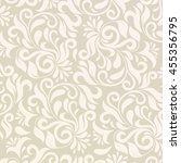 pattern in arabic style.... | Shutterstock . vector #455356795