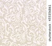 pattern in arabic style.... | Shutterstock . vector #455356861