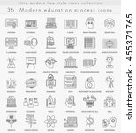 vector modern education ultra... | Shutterstock .eps vector #455371765