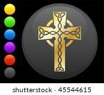golden celtic cross original...   Shutterstock .eps vector #45544615