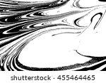 ebru  turkish marbling art...   Shutterstock .eps vector #455464465