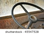 Steering Wheel And Dashboard...