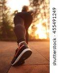 starting stand  running  | Shutterstock . vector #455491249