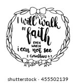 I Will Walk In Faith Even When...