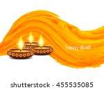elegant card design of... | Shutterstock .eps vector #455535085