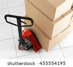 Manual Pallet Truck With Carto...