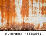 a rusty and weathered looking... | Shutterstock . vector #455560951