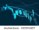 data analyzing in forex market...   Shutterstock . vector #455591857