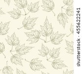 Leaves  Seamless Pattern Of...