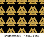 seamless pattern with the... | Shutterstock .eps vector #455631451