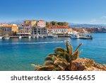chania  crete   25 maj  2016 ...   Shutterstock . vector #455646655