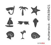 Summer Time Design Icons...