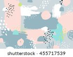 abstract background with hand... | Shutterstock . vector #455717539