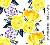 abstract elegance seamless... | Shutterstock .eps vector #455727241