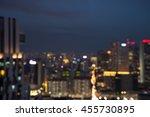 abstract urban night light