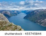 lysefjord | Shutterstock . vector #455745844