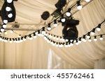 light bulb garland   Shutterstock . vector #455762461