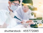 scientists are certain... | Shutterstock . vector #455772085