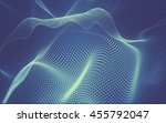 abstract polygonal space low... | Shutterstock . vector #455792047