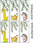 vector bookmarks set | Shutterstock .eps vector #455799445