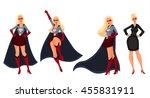 female superhero cartoon style...