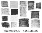 texture canvas line drawing...   Shutterstock .eps vector #455868835