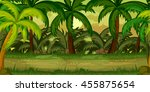 jungles game background | Shutterstock .eps vector #455875654