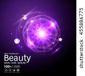 collagen beauty serum and...   Shutterstock .eps vector #455886775