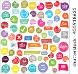 badges and labels collection | Shutterstock .eps vector #455918635