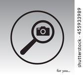 search foto camera vector icon | Shutterstock .eps vector #455933989