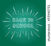 back to school vector. children ... | Shutterstock .eps vector #455940751